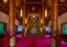 Wat Pra Kaew or The Temple of the Emerald Buddha Royalty Free Stock Images