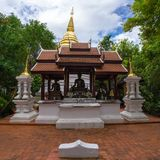 Wat Pra Kaew or The Temple of the Emerald Buddha Royalty Free Stock Photo