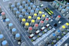 Chiang rai, Thailand - September 20, 2018: mixing console, Prof stock photo