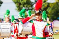 CHIANG RAI, THAILAND - SEPTEMBER 19: niet geïdentificeerde mooi u Royalty-vrije Stock Afbeelding