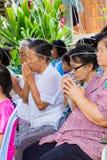 CHIANG RAI THAILAND - SEPTEMBER 1: oidentifierat ta för folk Arkivfoto