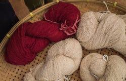 Cotton yarns Stock Image