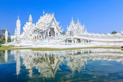 Chiang Rai, Thailand. Wat Rong Khun, known as the White Temple. Chiang Rai, Thailand stock image