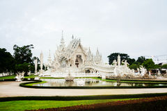 Chiang Rai, Thailand. White Temple in the morning Royalty Free Stock Image
