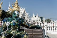 Chiang Rai, Thailand. White Temple - Wat Rong Khun stock photos