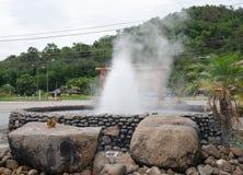 Chiang Rai Thaweesin Hot Spring Fotografia Stock Libera da Diritti