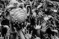 Chiang Rai Wat Rong Khun - temple blanc 4 photographie stock libre de droits