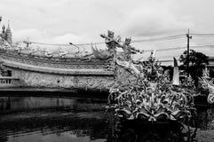 Chiang Rai Wat Rong Khun - vit tempel 8 Fotografering för Bildbyråer