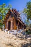 CHIANG RAJA TAJLANDIA, LUTY, - 01, 2018: Baan Ogrobla Muzealnego czerń dom, jeden sławny miejsce i punkt zwrotnego w Chiang, Zdjęcia Royalty Free