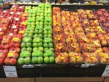 CHIANG RAJA TAJLANDIA, PAŹDZIERNIK, - 28: Świeża organicznie czerwień i zieleń Zdjęcia Stock