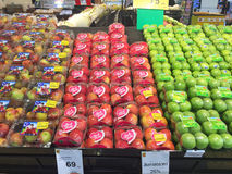 CHIANG RAJA TAJLANDIA, PAŹDZIERNIK, - 28: Świeża organicznie czerwień i zieleń Fotografia Royalty Free
