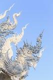 CHIANG RAJA TAJLANDIA, STYCZEŃ, - 21: Wat Rong Khun Zdjęcia Royalty Free