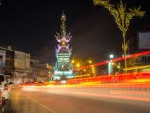 Chiang Raja Zegarowy wierza Zdjęcia Stock