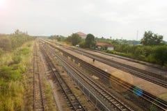 Chiang-rak Bahnhof Stockfoto