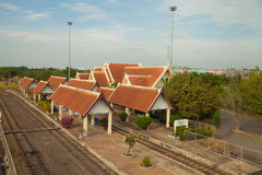 Chiang rak station Royalty-vrije Stock Foto