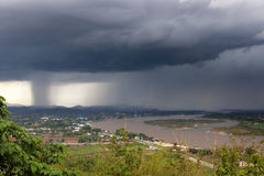 Chiang Saen, Таиланд Стоковое Фото