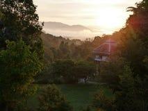 Chiang saen Chiang Rai Arkivfoton