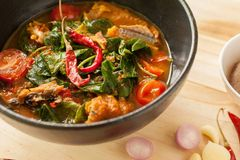 Chiangda curry Arkivfoto