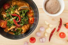 Chiangda curry Arkivfoton