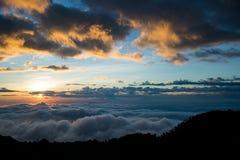 CHIANGDAO berg, Chiangmai-Provincie, Thailand Royalty-vrije Stock Afbeelding