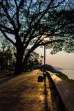 Chiangkhan, Thailand Stockfoto