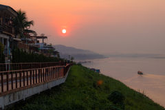 Chiangkhan, Thailand Lizenzfreie Stockfotografie
