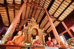chiangmai寺庙  库存图片
