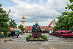 CHIANGMAI泰国- 2017年7月04日:没有老的蒸汽机车 340 o 免版税库存图片