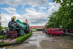 CHIANGMAI泰国- 2017年7月04日:没有老的蒸汽机车 340 o 免版税库存照片
