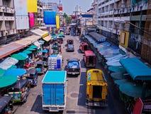 CHIANGMAI,泰国- 2017年5月10日Warorot市场,当地称Kad Luang,是那个清迈` s最大的市场 地方t 免版税库存照片