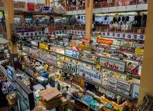 CHIANGMAI,泰国- 2017年5月10日Warorot市场,当地称Kad Luang,是那个清迈` s最大的市场 地方t 免版税图库摄影