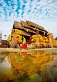 CHIANGMAI, THAILAND-APRIL 13日2008年:Songkran节日是celebr 库存照片