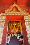CHIANGMAI, THAILAND-APRIL 15 :Songkran节日是庆祝的i 库存照片