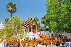CHIANGMAI, THAILAND-APRIL 15 :Songkran节日是庆祝的i 免版税库存图片