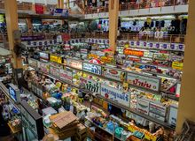CHIANGMAI, αγορά της ΤΑΪΛΑΝΔΗΣ στις 10 Μαΐου 2017 Warorot, αποκαλούμενη τοπικά Kad Luang, είναι μια από τη μεγαλύτερη αγορά Chian στοκ φωτογραφία με δικαίωμα ελεύθερης χρήσης