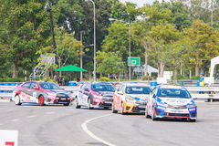 Chiangmai-ΤΑΪΛΑΝΔΗ στις 20-21 Σεπτεμβρίου 2014, TOYOTA Στοκ Εικόνα