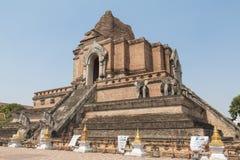 Chiangmai, Ταϊλάνδη - 10 Μαΐου 2016: Η αρχαία παγόδα χτίζει από το BR Στοκ φωτογραφία με δικαίωμα ελεύθερης χρήσης