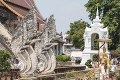 Chiangmai, Ταϊλάνδη - 10 Μαΐου 2016: Η αρχαία παγόδα χτίζει από το BR Στοκ Εικόνες