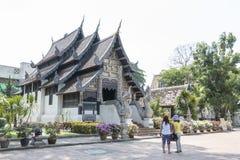 Chiangmai, Ταϊλάνδη - 10 Μαΐου 2016: Η αρχαία παγόδα χτίζει από το BR Στοκ εικόνα με δικαίωμα ελεύθερης χρήσης