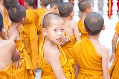 CHIANGMAI, ТАИЛАНД 15-ОЕ АПРЕЛЯ: Фестиваль Songkran отпразднованное I Стоковые Фотографии RF
