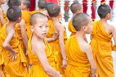CHIANGMAI, ТАИЛАНД 15-ОЕ АПРЕЛЯ: Фестиваль Songkran отпразднованное I Стоковое фото RF