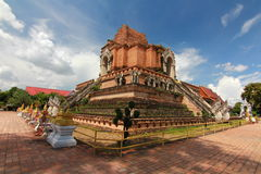 Chiangmai Таиланд luang chedi Wat Стоковые Изображения