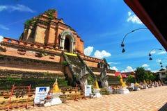 Chiangmai Таиланд luang chedi Wat Стоковые Фото
