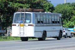 Chiangmai bianco del taxi del bus Fotografia Stock