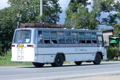 Chiangmai bianco del taxi del bus Fotografia Stock Libera da Diritti