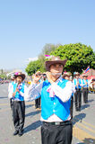 Chiangmai boy musician show. Royalty Free Stock Photos