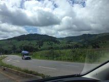 Chiangmai-Chiangrai. On the way from Chiangmai to Chiangrai,Thailand stock photos