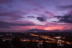 Chiangmai city Stock Photography