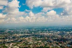 Chiangmai city view Royalty Free Stock Photo