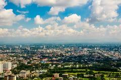 Chiangmai city view Royalty Free Stock Photos